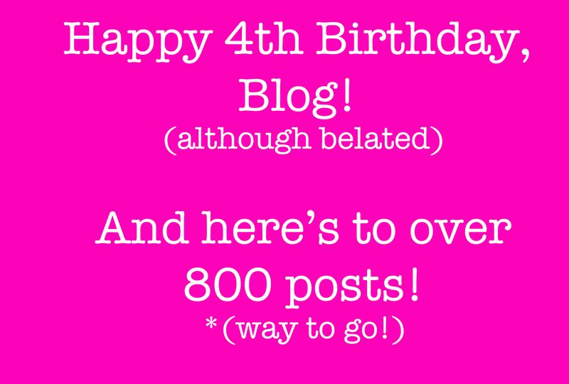 Happy Birthday, Blog